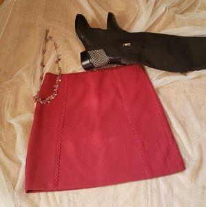 Loft dark fuchsia Skirt